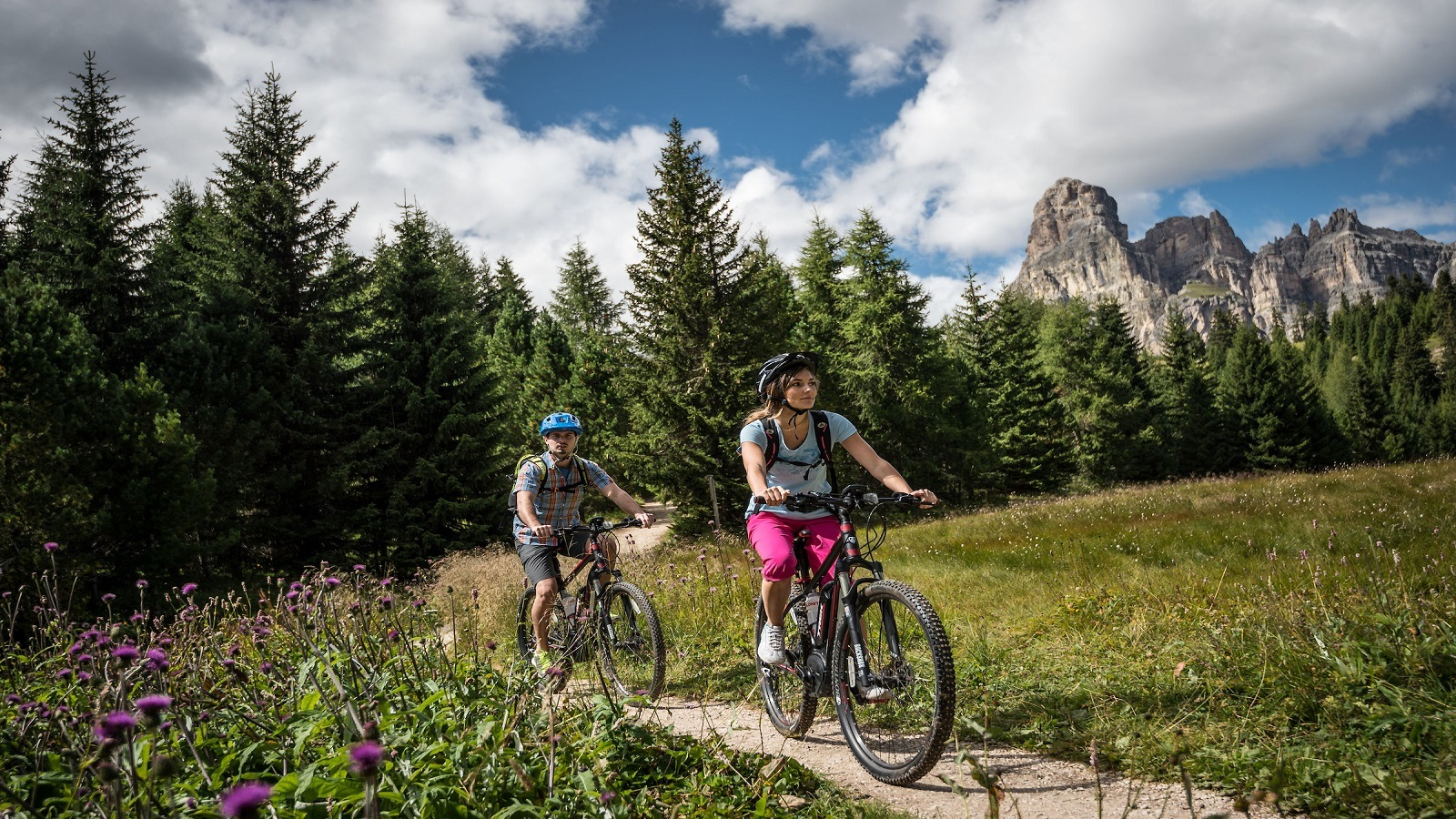 Alta Badia Bike sharing by Alex Moling